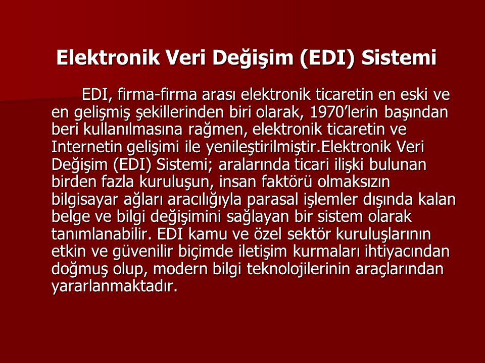 Elektronik Veri Değişim (EDI) Sistemi
