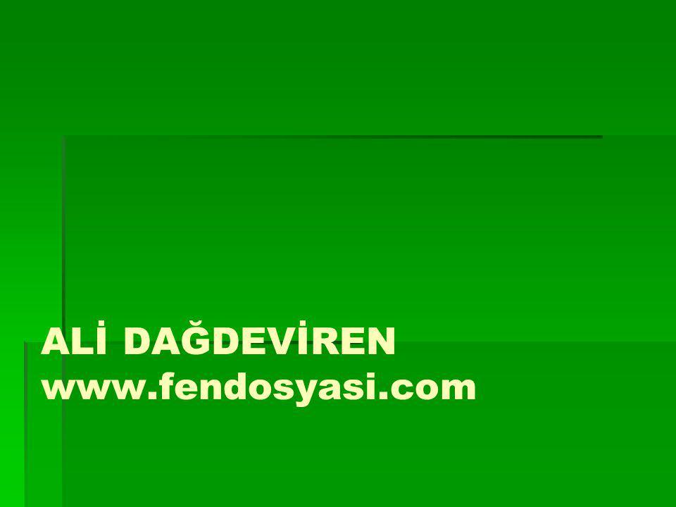 ALİ DAĞDEVİREN www.fendosyasi.com