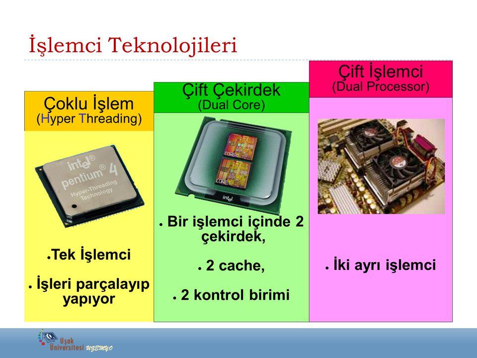 İşlemci Teknolojileri