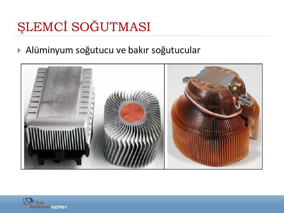 ŞLEMCİ SOĞUTMASI Alüminyum soğutucu ve bakır soğutucular