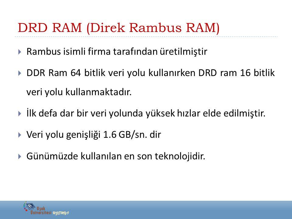 DRD RAM (Direk Rambus RAM)
