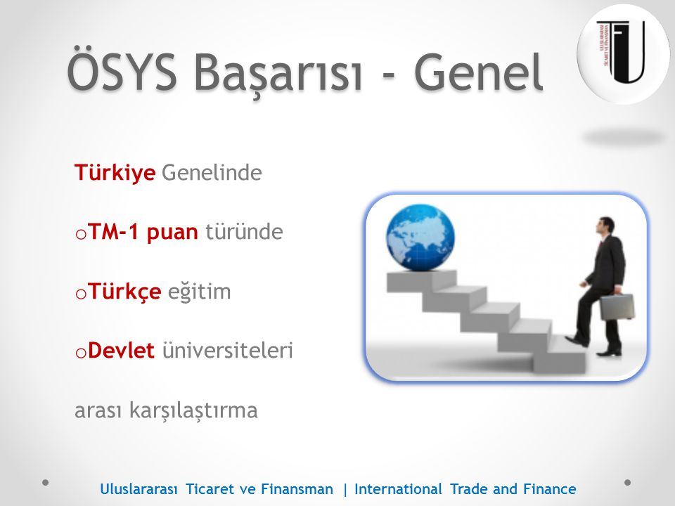 ÖSYS Başarısı - Genel Türkiye Genelinde TM-1 puan türünde