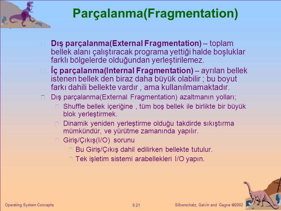 Parçalanma(Fragmentation)