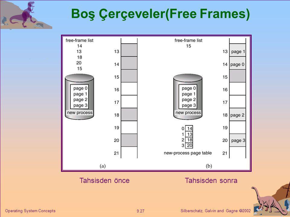 Boş Çerçeveler(Free Frames)