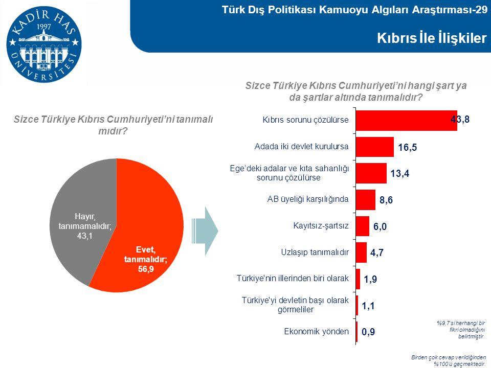 Türk Dış Politikası Kamuoyu Algıları Araştırması-29