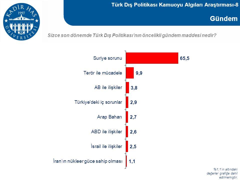 Türk Dış Politikası Kamuoyu Algıları Araştırması-8