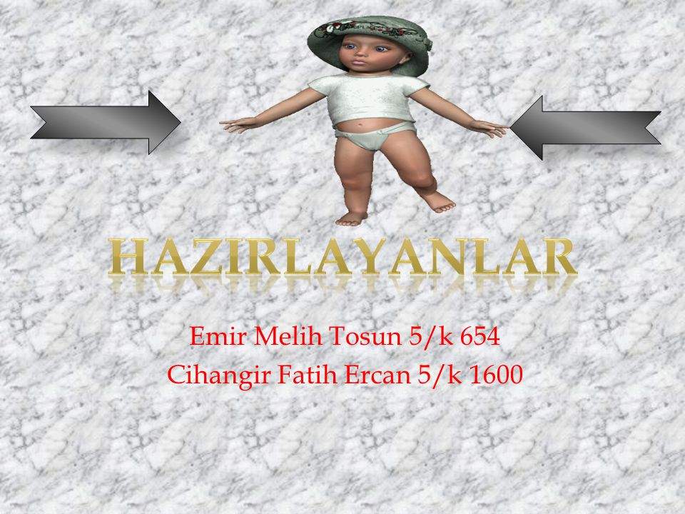 Emir Melih Tosun 5/k 654 Cihangir Fatih Ercan 5/k 1600