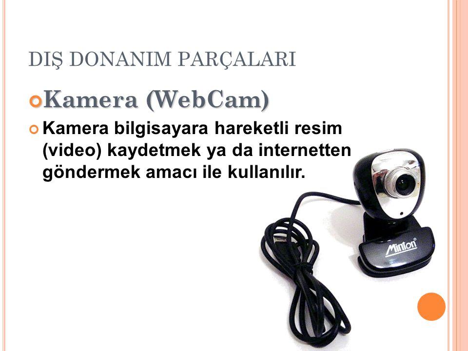 Kamera (WebCam) DIŞ DONANIM PARÇALARI