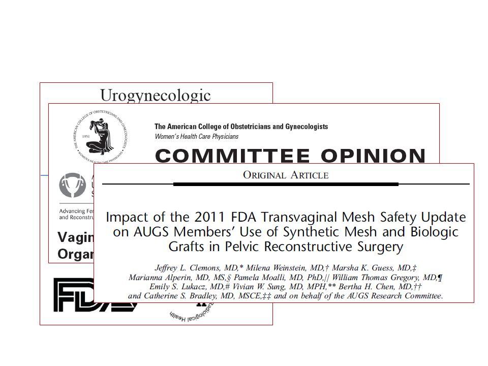 İlk kez Ekim 2008'de FDA, Public Health Notification (PHN) yayınladı