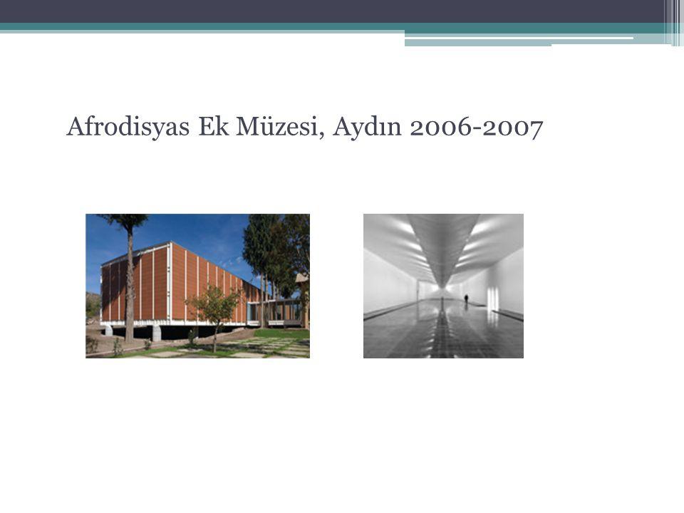 Afrodisyas Ek Müzesi, Aydın 2006-2007