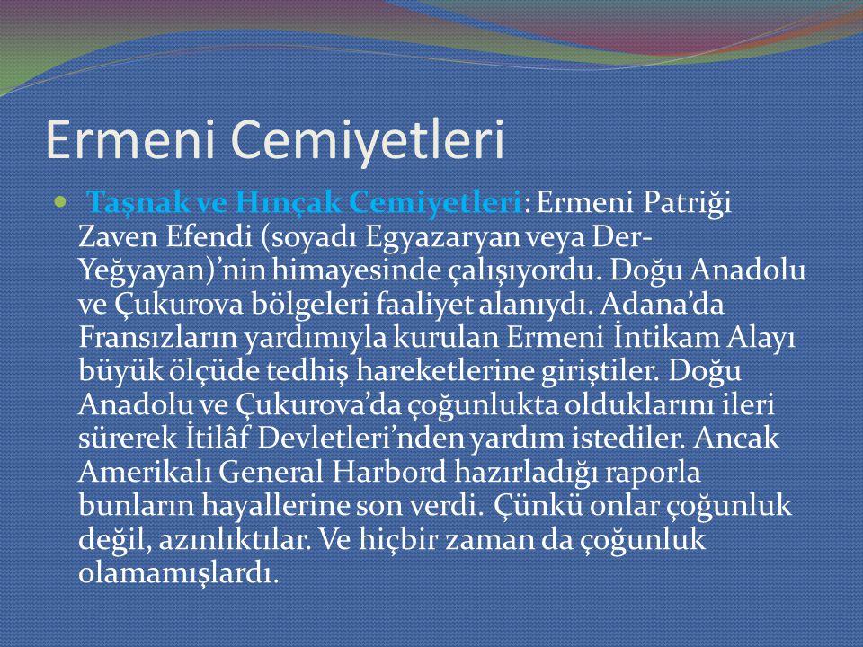 Ermeni Cemiyetleri