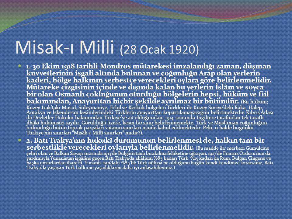 Misak-ı Milli (28 Ocak 1920)