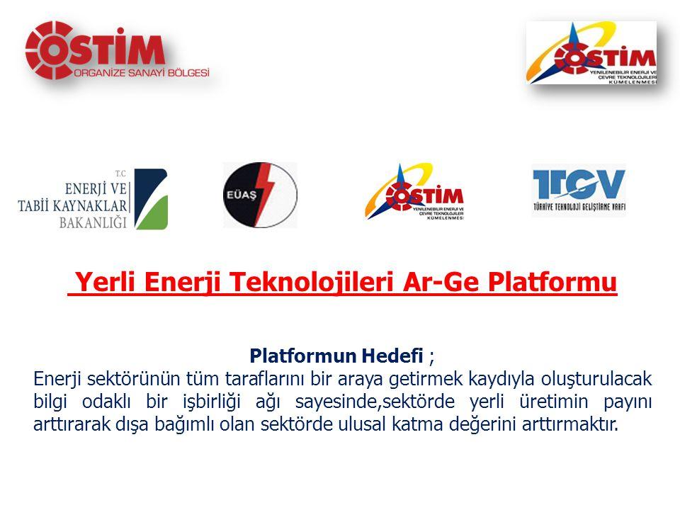 Yerli Enerji Teknolojileri Ar-Ge Platformu