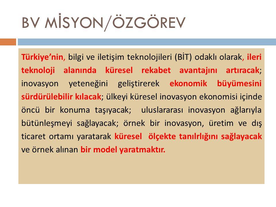 BV MİSYON/ÖZGÖREV
