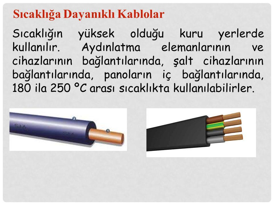 Sıcaklığa Dayanıklı Kablolar