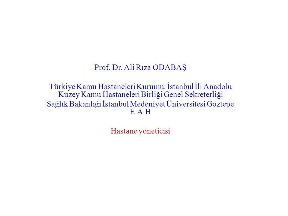 Sağlık Bakanlığı İstanbul Medeniyet Üniversitesi Göztepe E.A.H