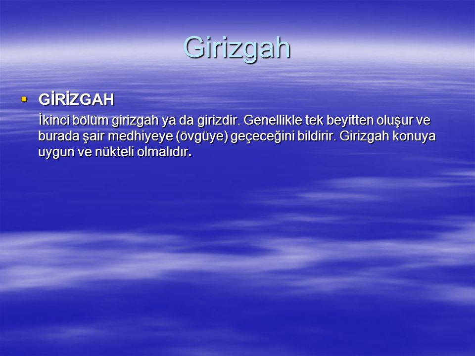 Girizgah GİRİZGAH.