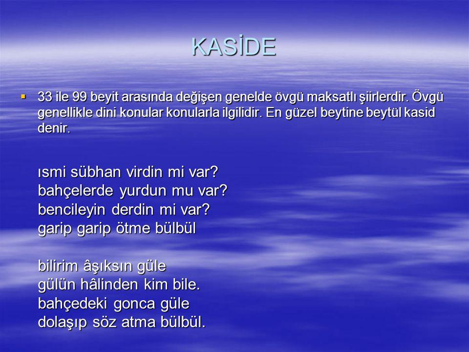 KASİDE