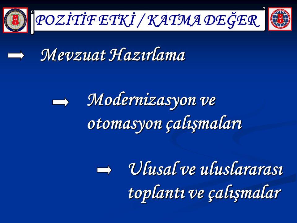 POZİTİF ETKİ / KATMA DEĞER