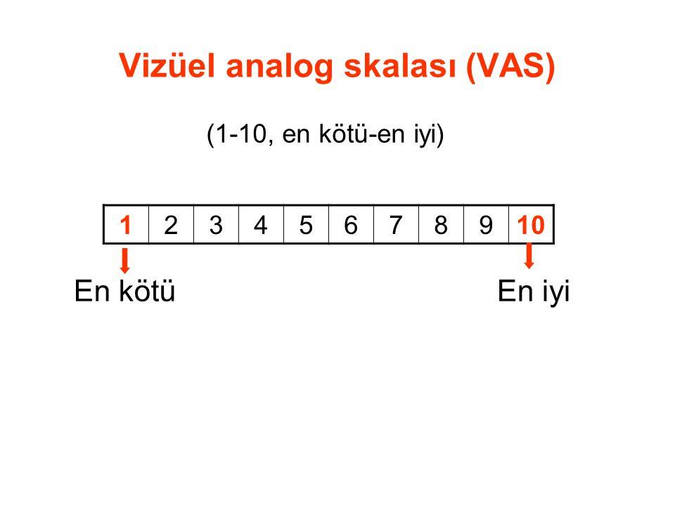 Vizüel analog skalası (VAS)