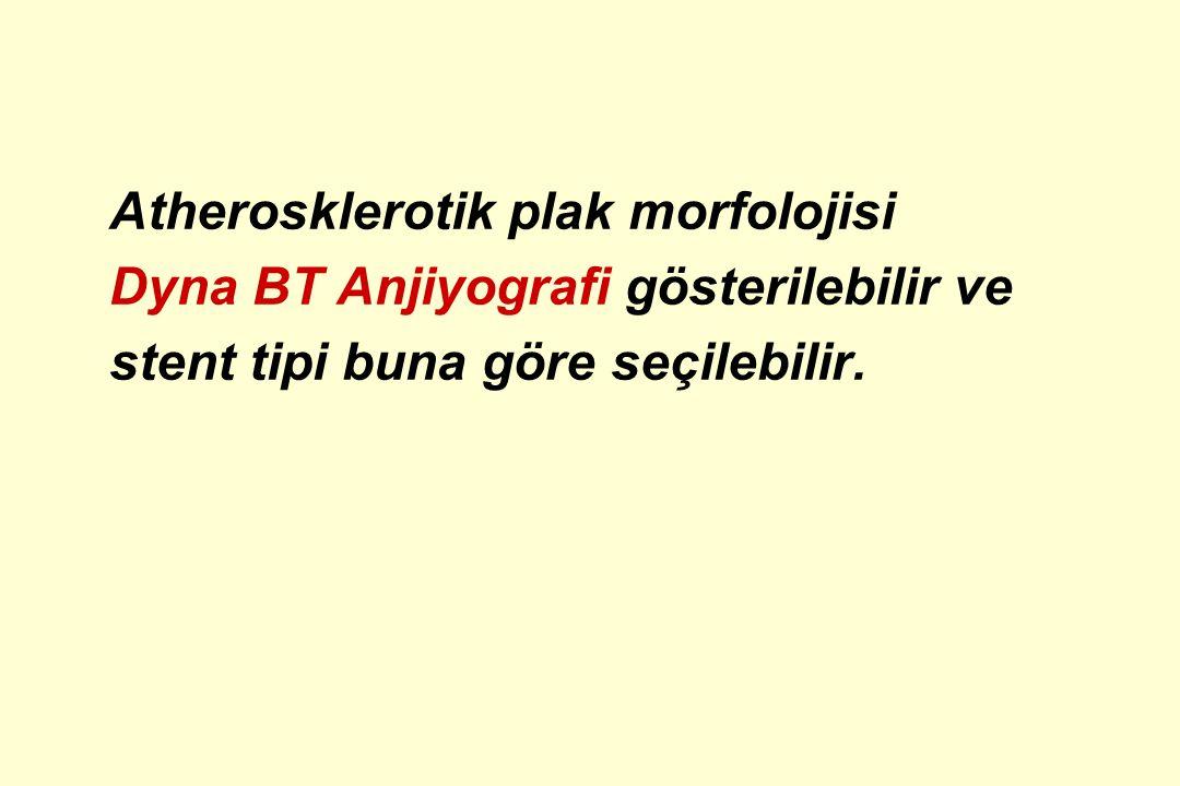 Atherosklerotik plak morfolojisi