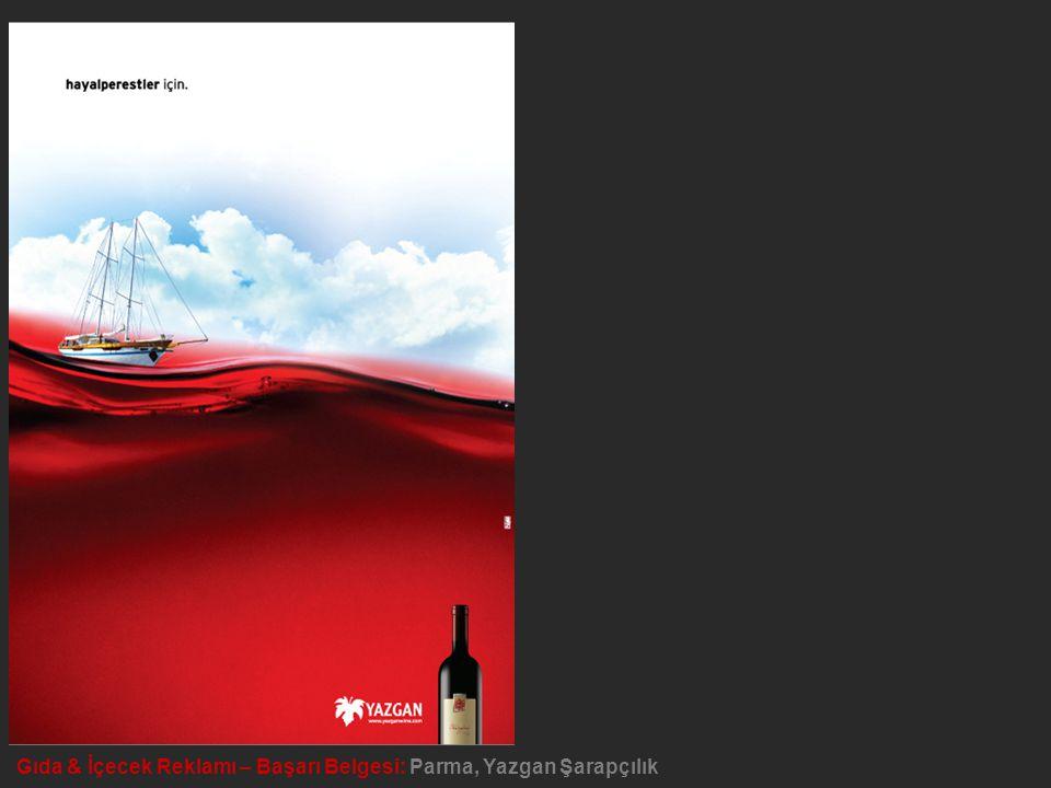 Gıda & İçecek Reklamı – Başarı Belgesi: Parma, Yazgan Şarapçılık