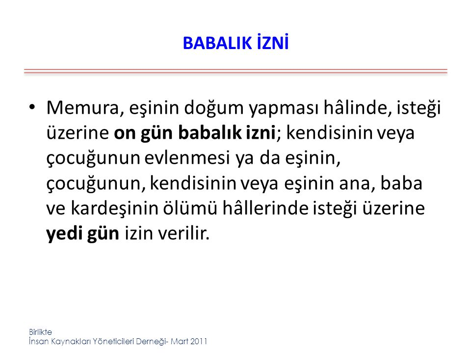 BABALIK İZNİ