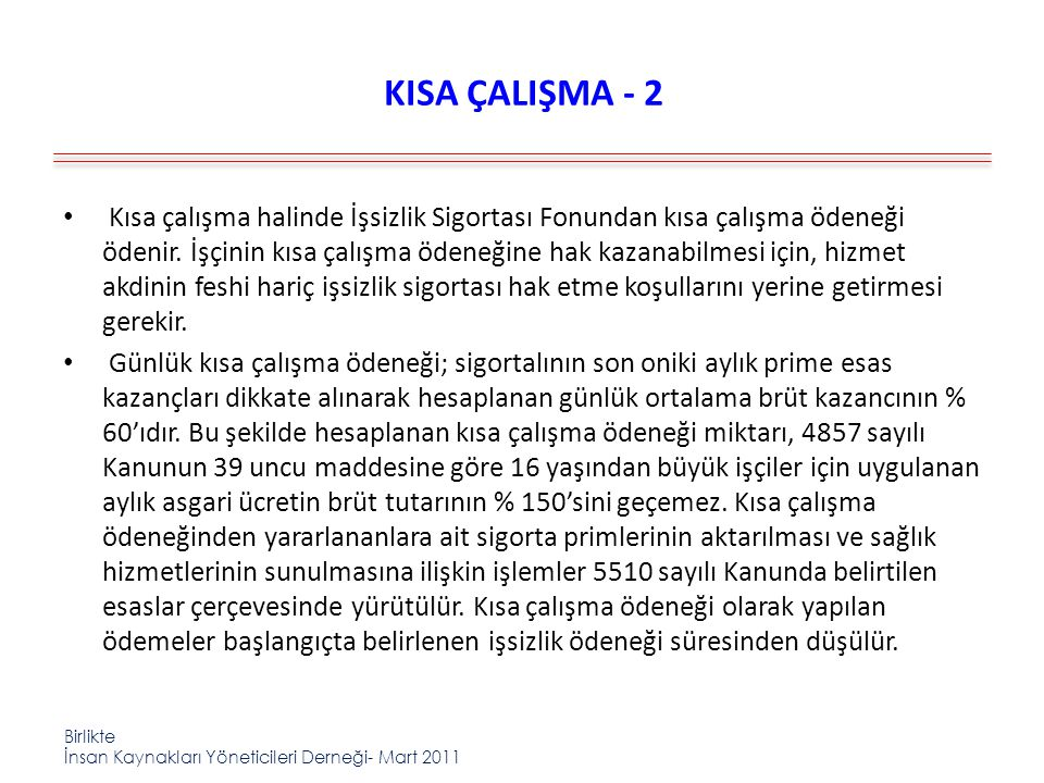 KISA ÇALIŞMA - 2
