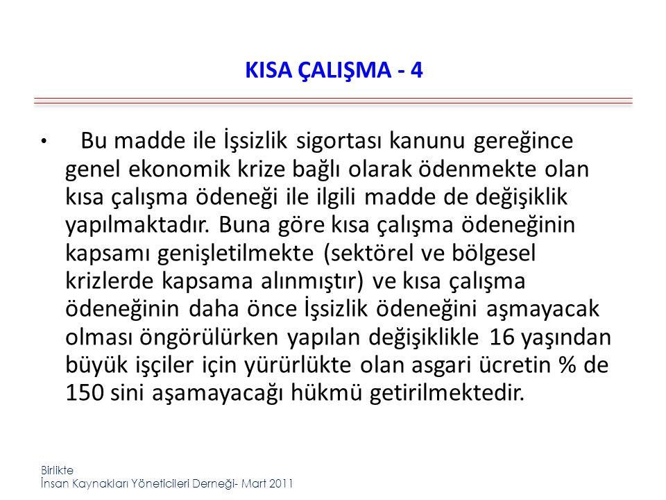 KISA ÇALIŞMA - 4