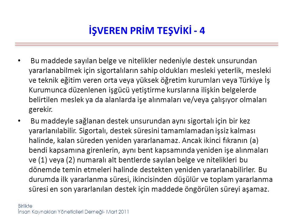 İŞVEREN PRİM TEŞVİKİ - 4