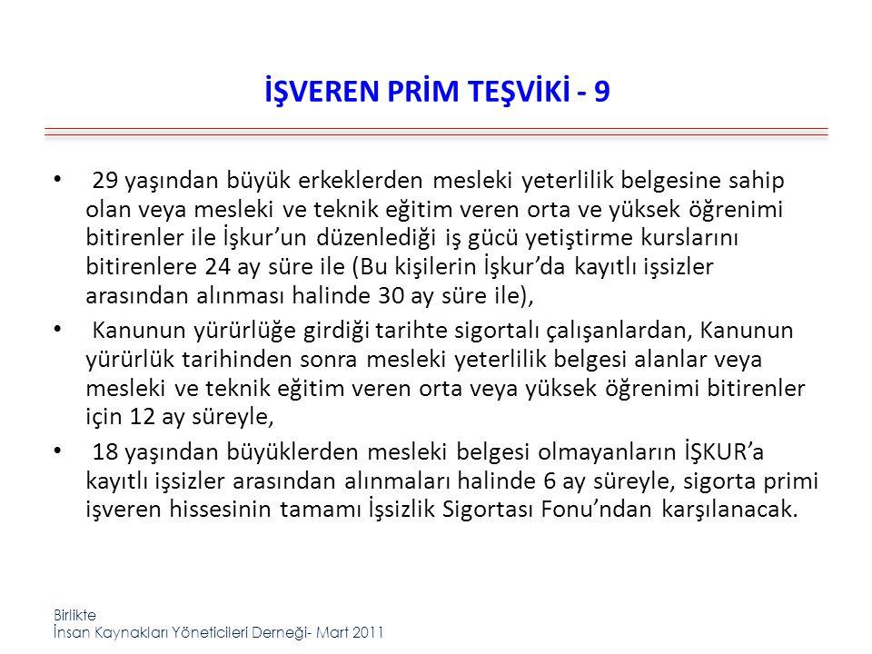 İŞVEREN PRİM TEŞVİKİ - 9