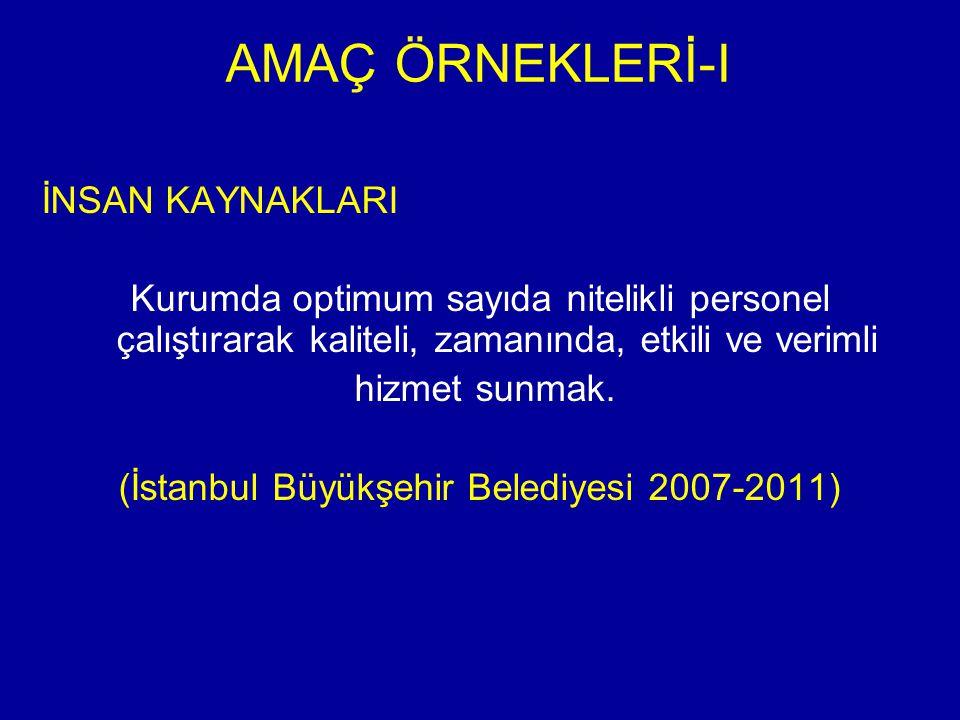 (İstanbul Büyükşehir Belediyesi 2007-2011)