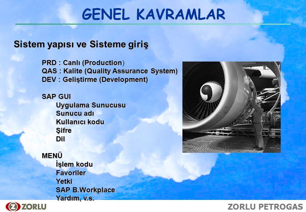GENEL KAVRAMLAR Sistem yapısı ve Sisteme giriş