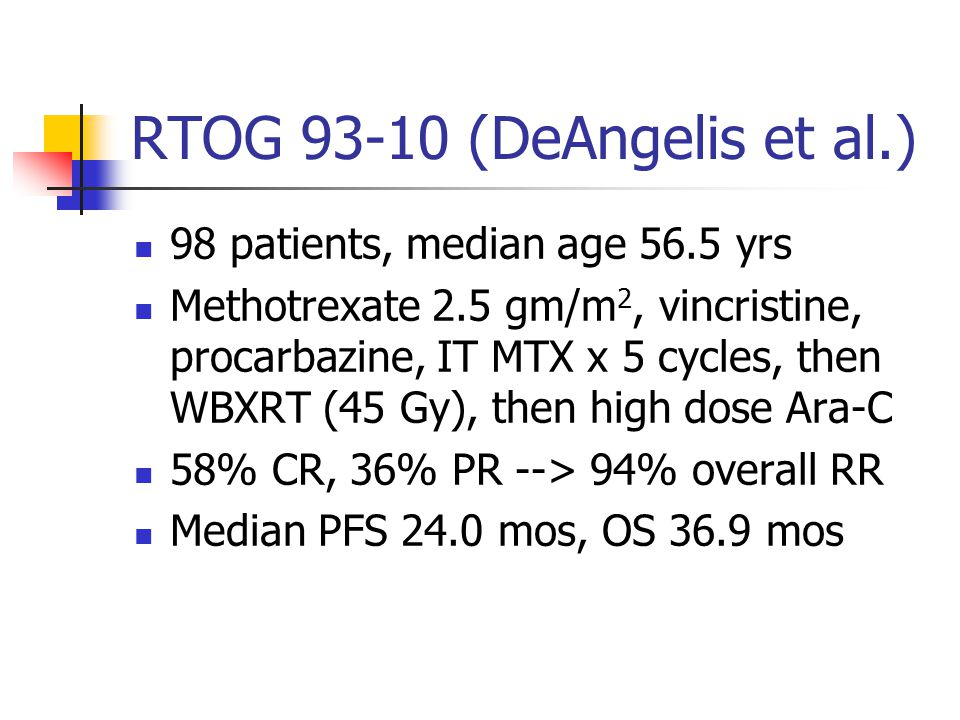 RTOG 93-10 (DeAngelis et al.)