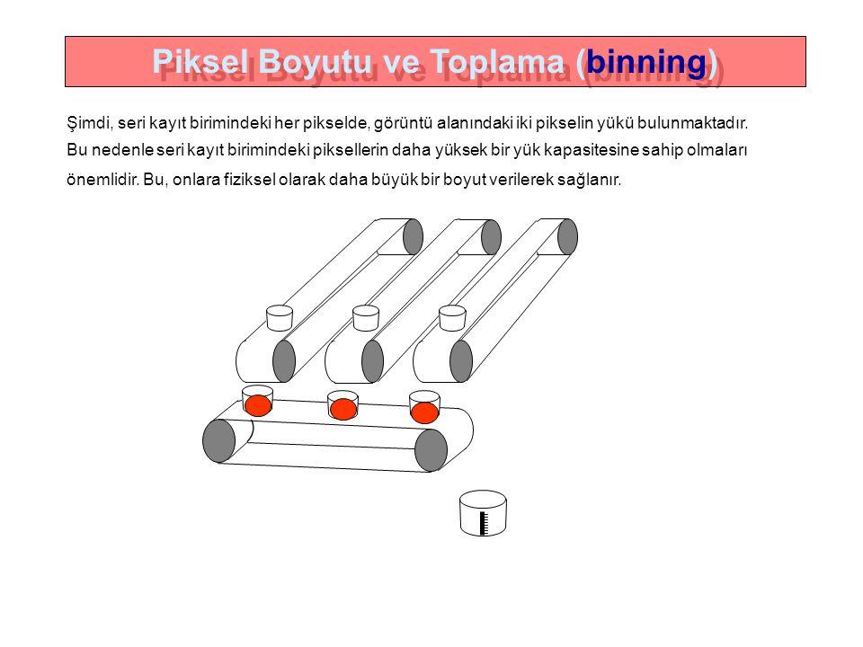 Piksel Boyutu ve Toplama (binning) Piksel Boyutu ve Toplama (binning)