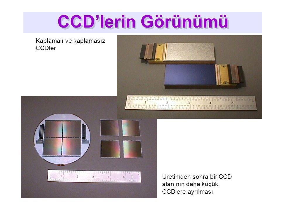 CCD'lerin Görünümü CCD'lerin Görünümü