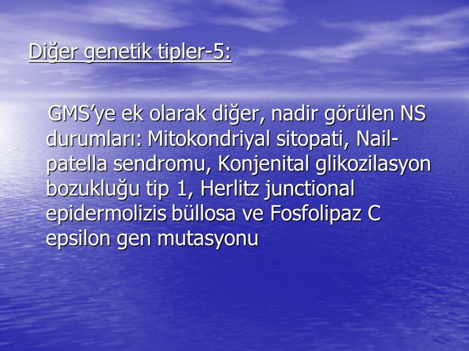 Diğer genetik tipler-5: