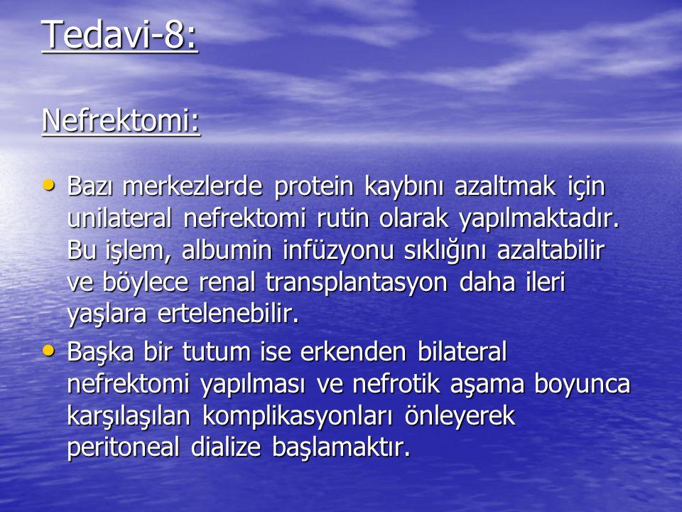 Tedavi-8: Nefrektomi: