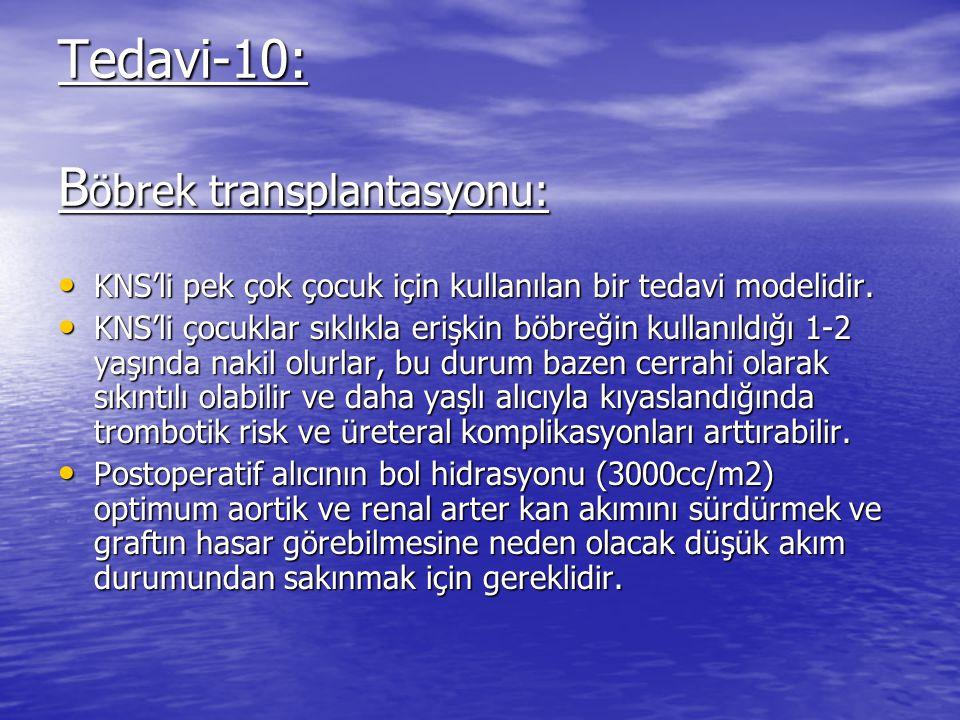 Tedavi-10: Böbrek transplantasyonu: