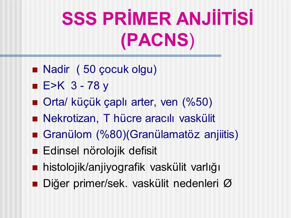 SSS PRİMER ANJİİTİSİ (PACNS)