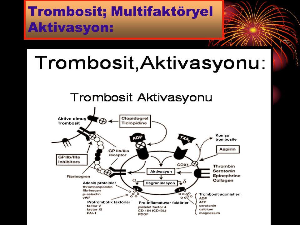 Trombosit; Multifaktöryel Aktivasyon: