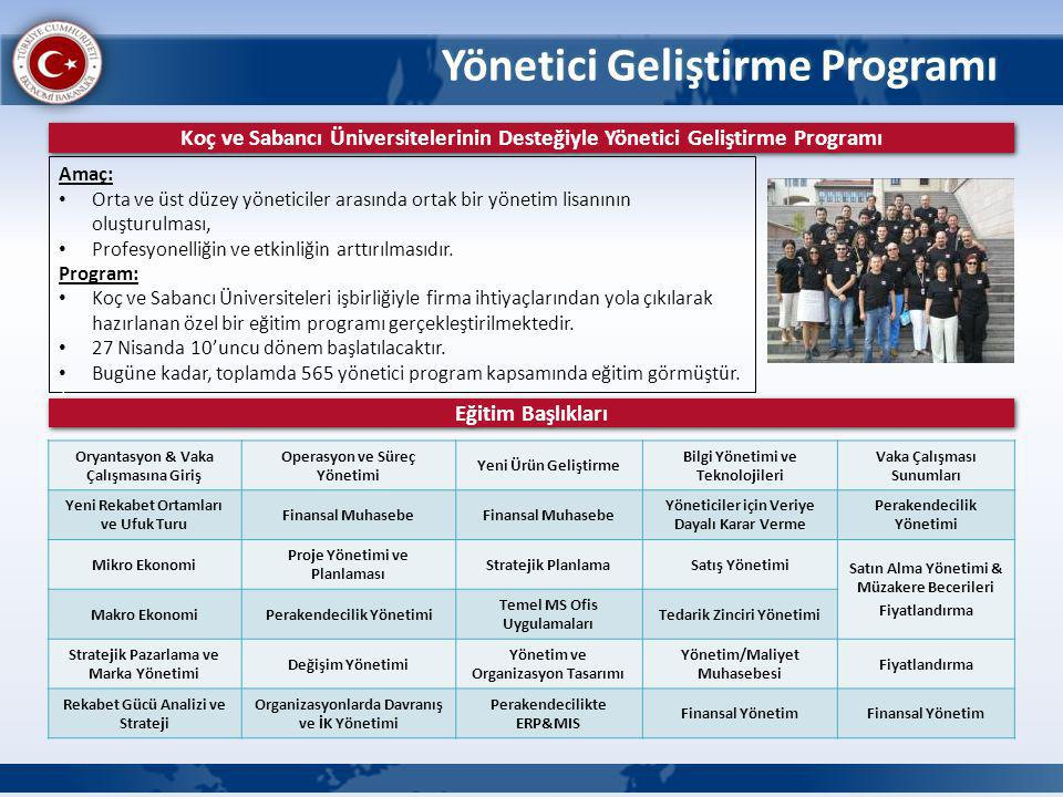 Yönetici Geliştirme Programı