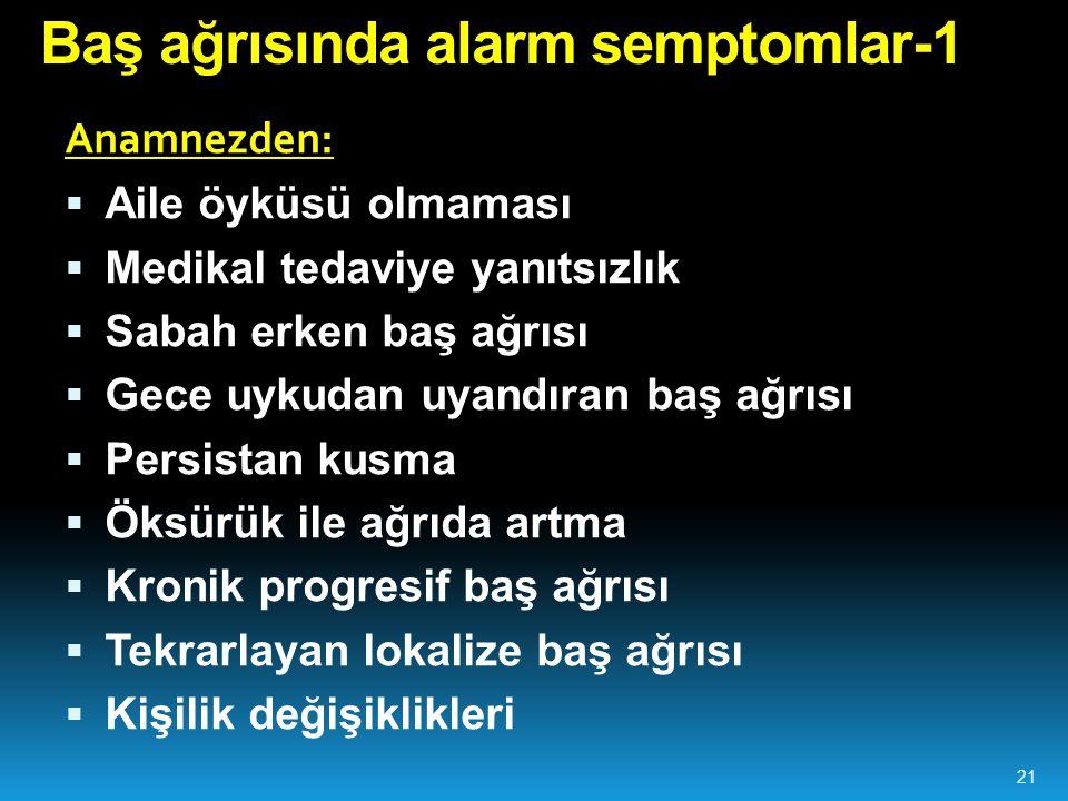 Baş ağrısında alarm semptomlar-1