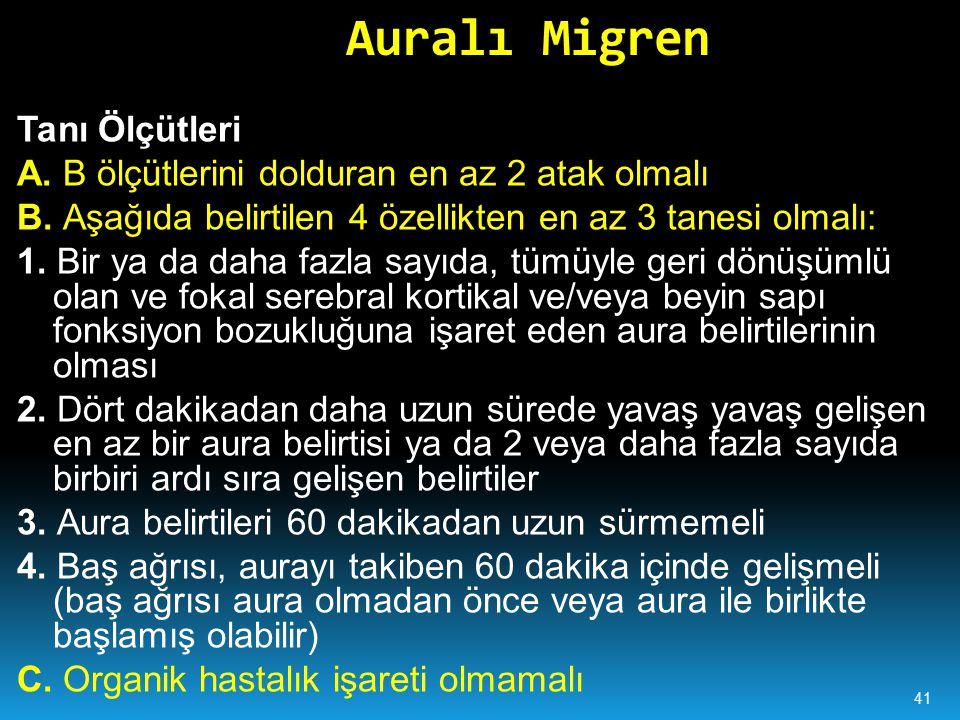 Auralı Migren