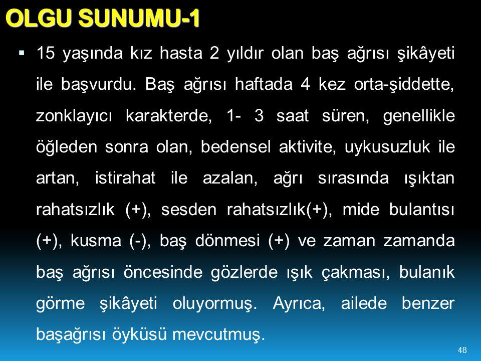 OLGU SUNUMU-1