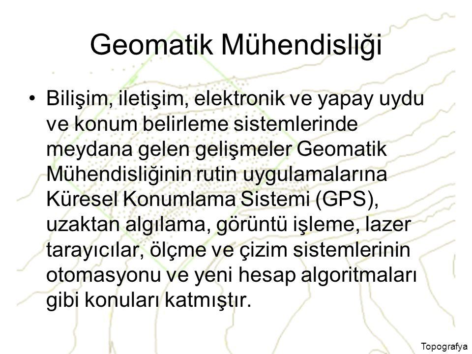 Geomatik Mühendisliği