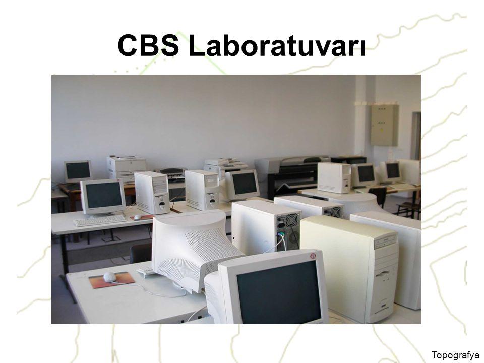 CBS Laboratuvarı Topografya