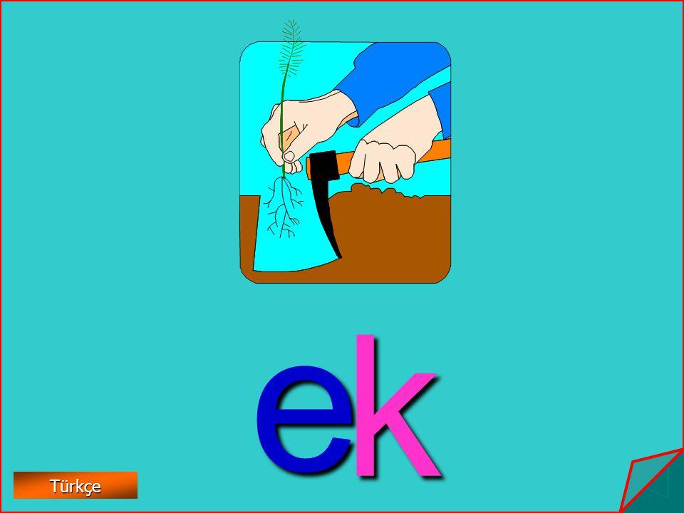 e k Türkçe