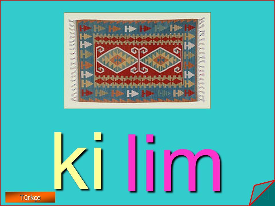 ki lim Türkçe