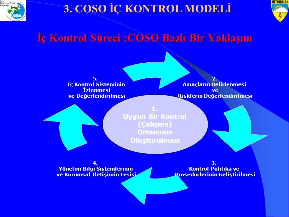 İç Kontrol Süreci :COSO Bazlı Bir Yaklaşım